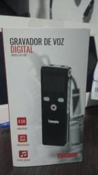 Gravador 8gb 558 de voz digital tomate Mgp- 558