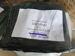 Título do anúncio: Sacos de Lixo 50L / 100L / Preto e Azul