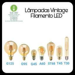 Lâmpadas Vintage Retrô Filamento LED e Carbono comprar usado  São José dos Campos