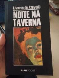 Livro 'Noite na taverna' em perfeito estado