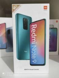 Show! Redmi note 9 da Xiaomi .. NOVO LACRADO aceito cartão