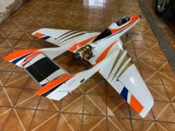 Aeromodelo Falcon 120 com k80