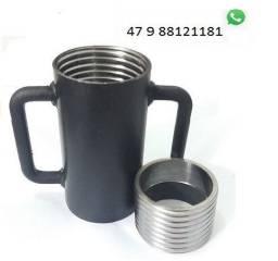 Kit copo e caneca para escoras metálicas Laje
