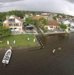 Casa frente da Lagoa Balneário barra do Sul