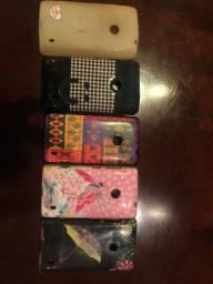 Kit 5 capinhas Nokia Lumia 520