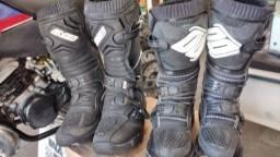 Bota de motocross infantil