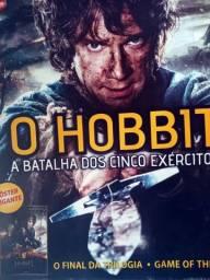 Revista Mega Poster - Hobbit A Batalha dos 5 Exércitos