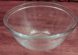 Tigela vidro redonda