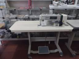 Máquina de costura reta industrial direct drive Zoje nova
