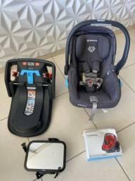 Bebê conforto UPPABABY MESA completo. O MELHOR!!! + Brindes. PRATICAMENTE NOVO.
