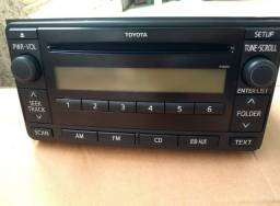 Título do anúncio: Rádio original Toyota hilux