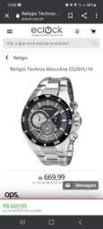 Relógio Mormaii e relógio Tecnos 300 reais cada