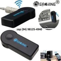 Título do anúncio:  Adaptador Bluetooth P2 Receptor Auxilar
