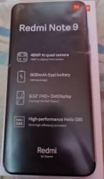 Título do anúncio: Smartphone Xiaomi Redmi Note 9, 4GB, 128GB