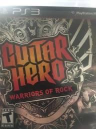 Jogo Ps3 Guitar Hero Warriors of Rock