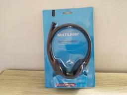 Headset Multilaser Para Notebook e PC