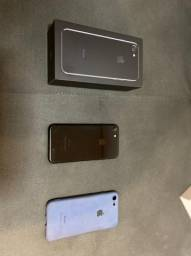 Iphone 7 256gb Preto Jet Black/ Iphone 7 128gb Rosê