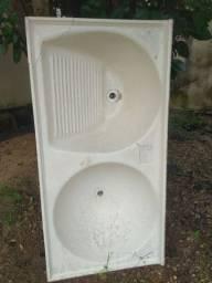 Tanque de fibra usado