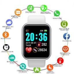 Relógio Inteligente Smartwatch Com Notificação do Whatsapp Feminino e Masculino