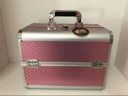 vendo maleta média com kit make