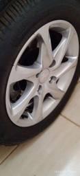 Troco rodas Peugeot 208 outras rodas