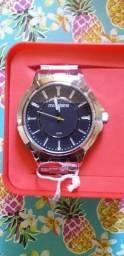 Promoção Relógio Mondaine Masculino em aço prova d'água novo