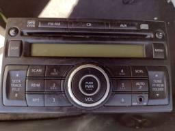 Título do anúncio: Rádio original do tiida 2012 com entrada auxiliar