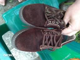Título do anúncio: Sapato Marrom Bellpés 38/39 masculino usado bem conservado