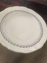 Prato para bolo porcelana schimit