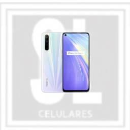 Realme 6 128gb branco:) a sl celulares tem os melhores produtos para você