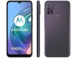 Smartphone Moto G10 128gb 4gb Ram Aurora Gray, Tela 6,5