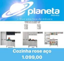 Título do anúncio: COZINHA ROSE AÇO PROMOÇÃO / AQUÁRIOS AQUÁRIOS AQUÁRIOS