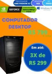 Título do anúncio: Computador Desktop usado