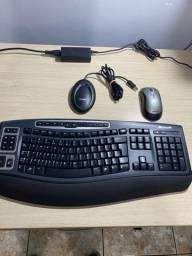 Mouse e Teclado Bluetooth Microsoft