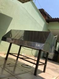 Título do anúncio: Coifa INOX 1,20mt x 77cm