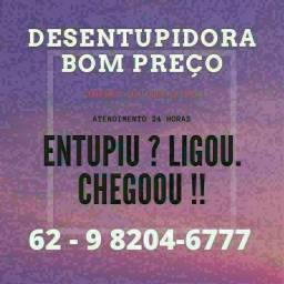 Título do anúncio: @Desentupidora de pias, Vasos, Calhas, e muito mais ....