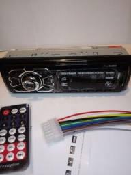 Título do anúncio: Rádio Automotivo com Bluetooth Novo