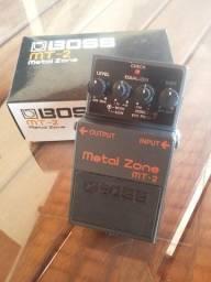 Título do anúncio: Pedal Boss Metal Zone MT-2 Guitarra