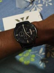 Imperdível promoção Relógio Nibosi luxo em aço prova dagua