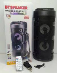 Caixa de som bt speaker  (zqs - 4210)  são luís