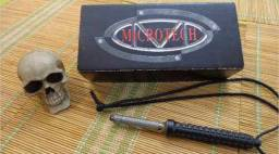 Microtech Jagdkommando 105-7 Beadblast Silver