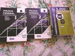 KIT DE LIVROS PARA CONCURSO DA PF