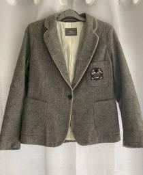 Título do anúncio: blazer cinza Lacoste