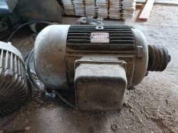 Título do anúncio: Motor Eberle 20 HP trifásico 220V/380V Alta rotação, aceito trocas