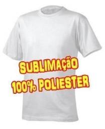 Camisetas de Poliéster   Personalizáveis   Sublimática