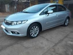 Honda civic 2012/2012 lxs automático impecável - 2012