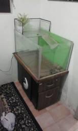 Vendo aquário em bom estado  pila