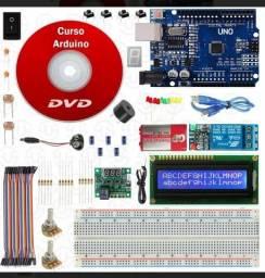 Kit Arduino DVD Curso + Componentes