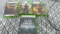 Gears 1,3 e Judgment e Alan Wake(Todos)