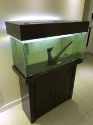 Aquario de 200lts automátizado